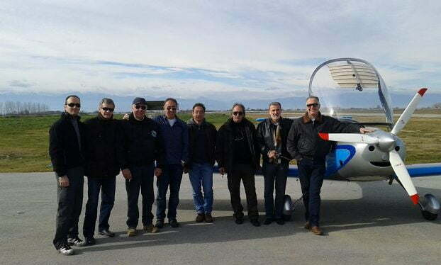Αερολέσχη Λάρισας και Καρδίτσας στο αεροδρόμιο Μυρίνης